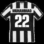 1. muhammad #22